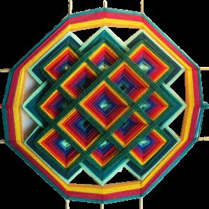 Ojo de Dios – Style tibétain – 40 cm